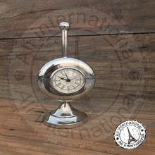ROUND TABLE CLOCK WITH NAUTICAL VINTAGE DESIGNING WATCH WITH 49 BOND STREET LONDON LOOK