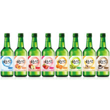 HanJan, Soju, Fruit-flavored Korean wine, Apple wine, 375ml