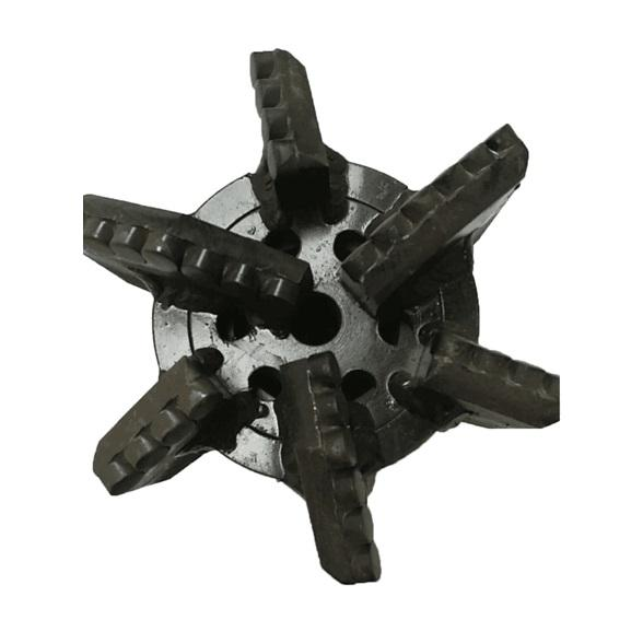 3 4 6 blades PDC cutter drag drill bit for water well drilling