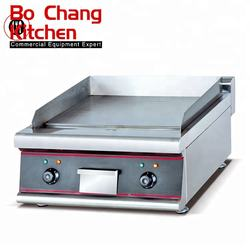 kitchen equipment stainless steel electric flat plate griddle