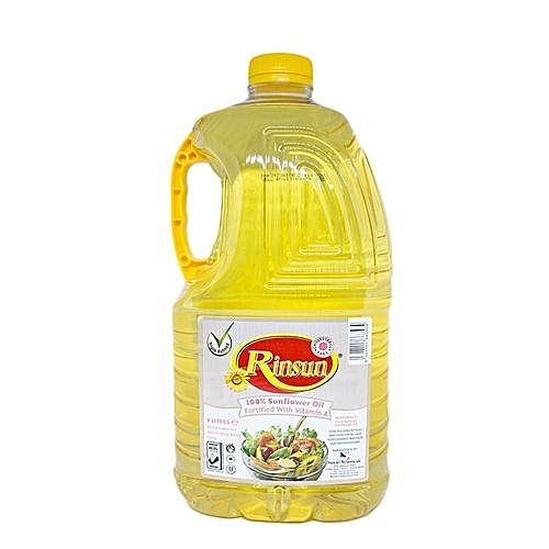 Certified pure sunflower cooking oil