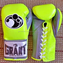 Genuine Leather Worldwide Custom Pro Fight Boxing Gloves