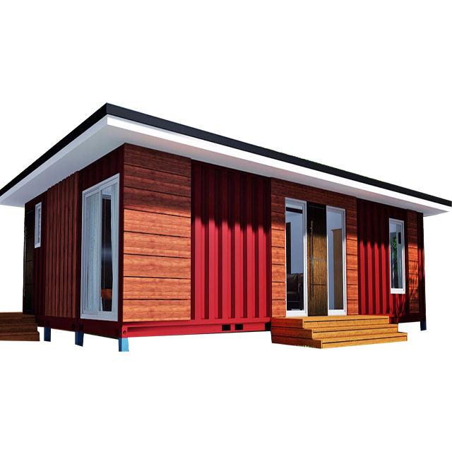 2019 barato casa prefabricada tienda contenedor de barco de la casa de los precios de los