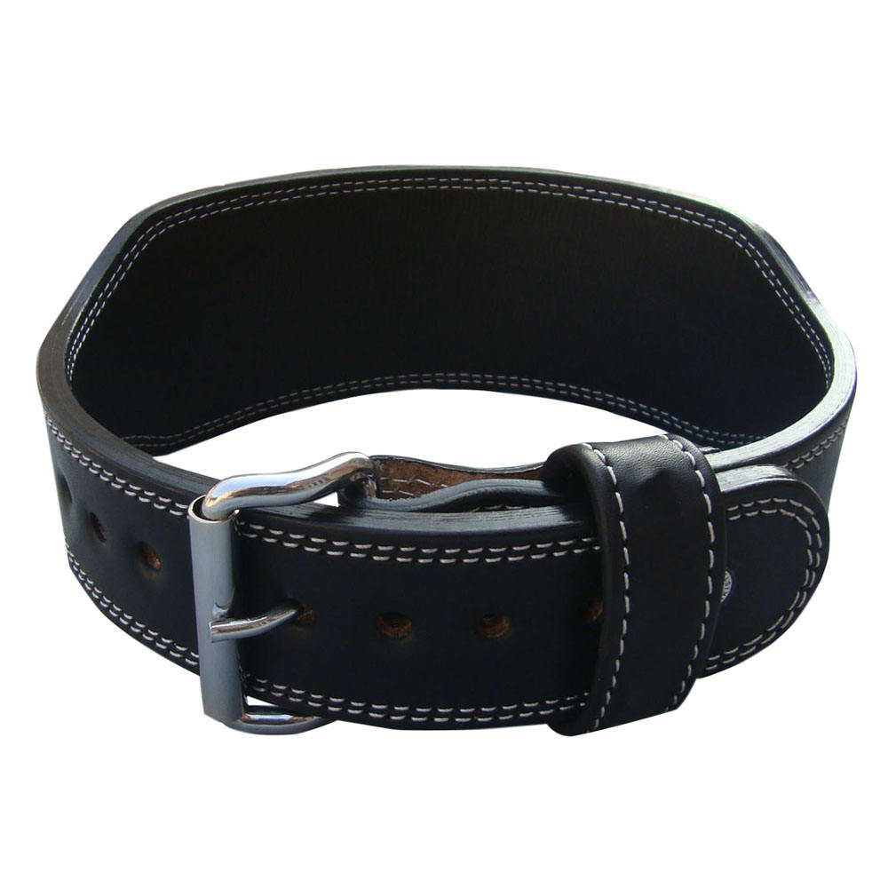 Weight Lifting Belt Double Prong buckle Belt