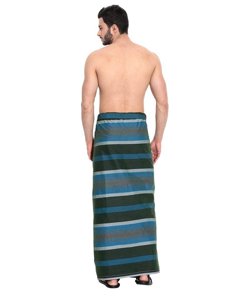 Printed Cotton Lungi Available...