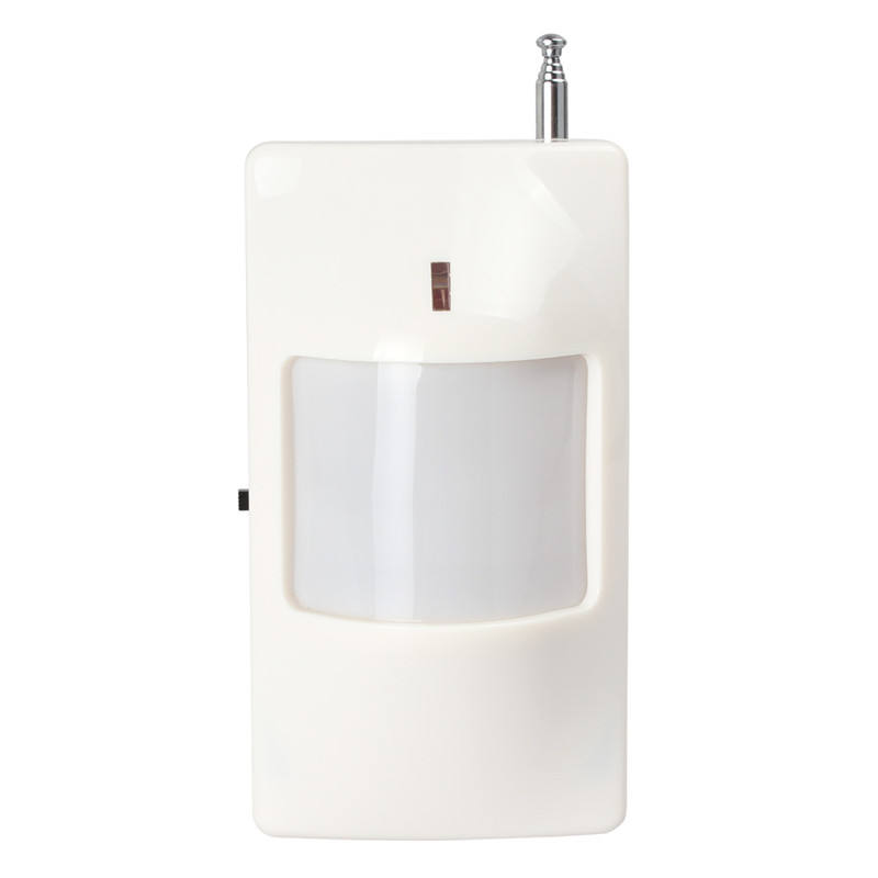 Wall mount pir sensor rf rf security pir mouvement detecteur ยาวสัญญาณเตือน