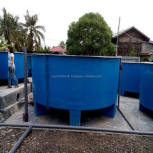 "Round Tank Diameter 3.5 M X H 1.2 M + 6 "" Slope Bottom With Leg Support = USD 1380 / Unit"
