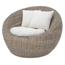 Natural Rattan Furniture High Quality Hand Woven Egg Chair