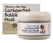 ELIZAVECCA- MILKY PIG CARBONATED BUBBLE MASK _KOREAN COSMETICS