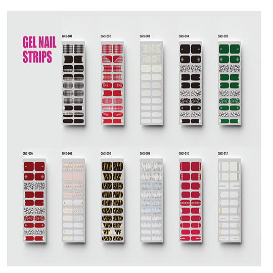 Beau-Tech Gel Nail Strips Non-toxic High Quality Korea Factory OEM Gel Nail Polish Sticker