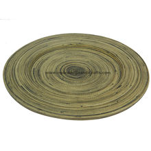 Hot Trend 100% Handmade Ecofriendly Round Seagrass Charger Plate