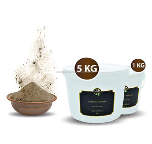 Rhassoul Ghassoul Lava Clay for Body & Hair & Skin Care - Rhassoul Pure & Premium grade from Morocco - Bulk and wholesale