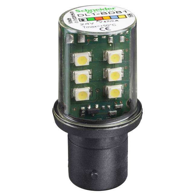 Schneider LED tower beacons light LED BA15D 24VAC/DC
