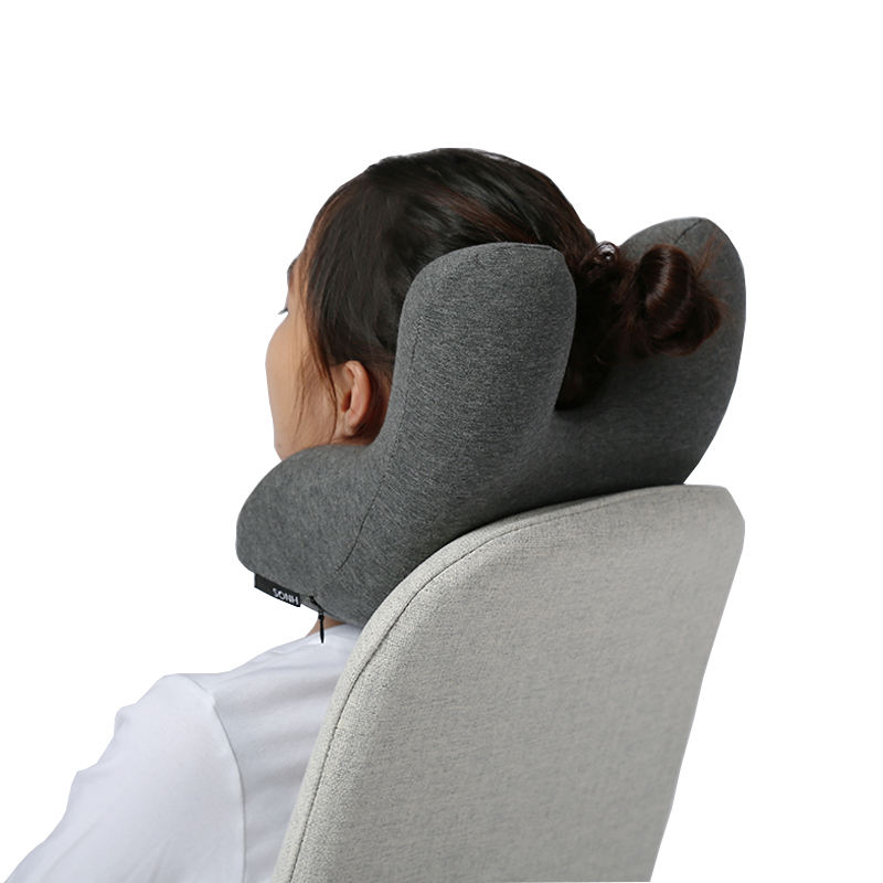 Office Napping Sleep Memory Foam Travel Car Office Neck Rest Nap Pillow