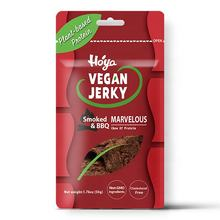 Special plant based vegan food soy protein jerky for vegan protein snack in sweety spicy sauce flavor
