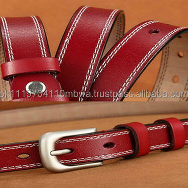 2.3CM Fashion Womens Paint Leather Alloy Waist Strap Belts Waistband
