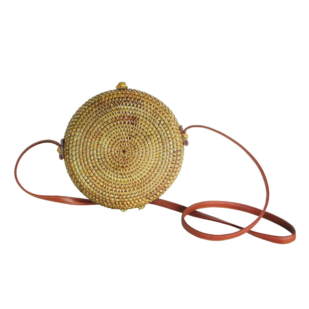 Professional nice price vietnam factory wholesale rattan round bag