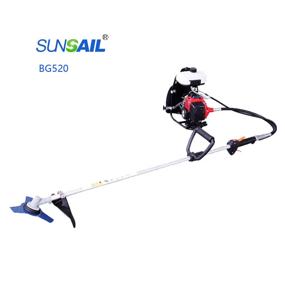 SUNSAIL BRAND 52cc chaff cutter machine grass/used grass cutter/grass cutter parts