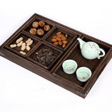 Promotional High Quality Chinese Solid Wood Tray Tea Tray for Sale
