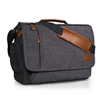 High quality wholesale canvas brand name laptop bag