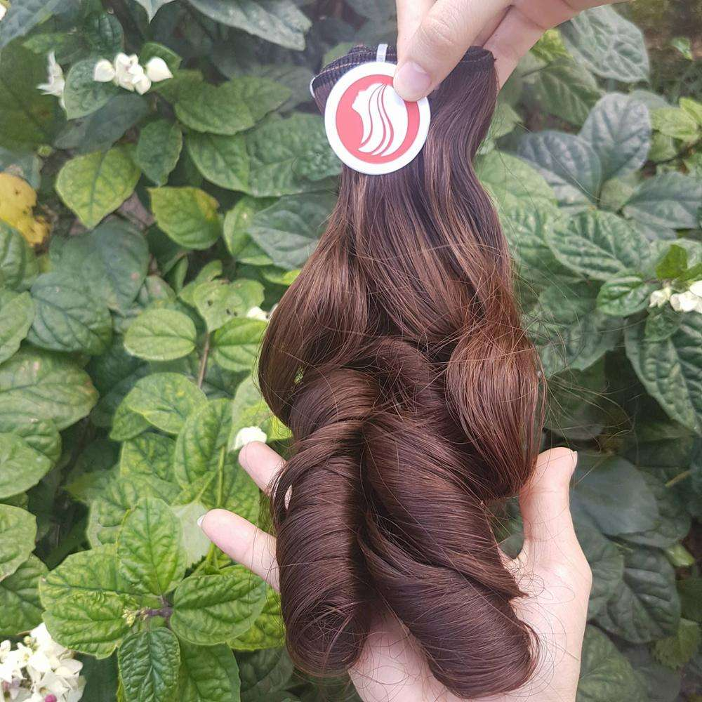 Best 헤어 스타일 unprocessed natural hair extension 탄력이 인간의 hair free tangle 및 흘리기