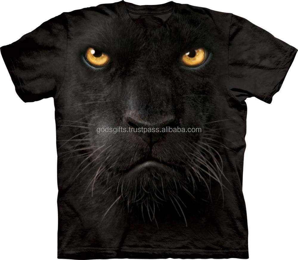 Tiger All Over Print T-Shirt,95/% Polyester,Childrens Short Sleeve T-ShirtAlbino