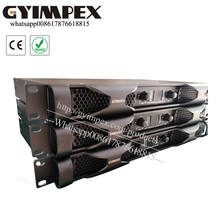 1700 w 8 ohm stereo rated power and 2300 w 4 ohm stereo rated power power amplifier