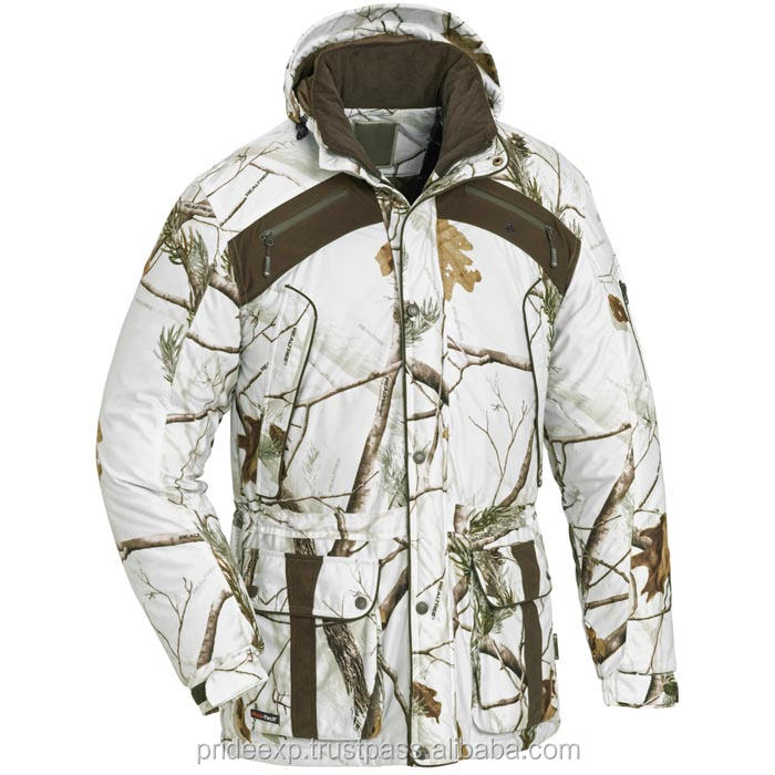 custom white tree camo hunting jacket army, wholesale, logo, printing, cheap with quality drop shipping