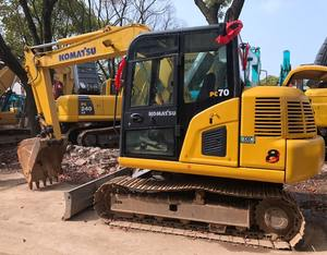 International Certificated Komatsu Used Excavator PC70 at low price , All Series Komatsu Hydraulic Digger for hot sale