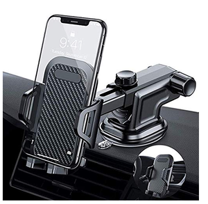 3 em 1 Universal Car Air Vent Cradle Phone Holder Car Air Vent Mount Holder Telefone para o Telefone Móvel