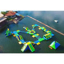 Sea Floating water Park Equipment giant inflatable water park for adult