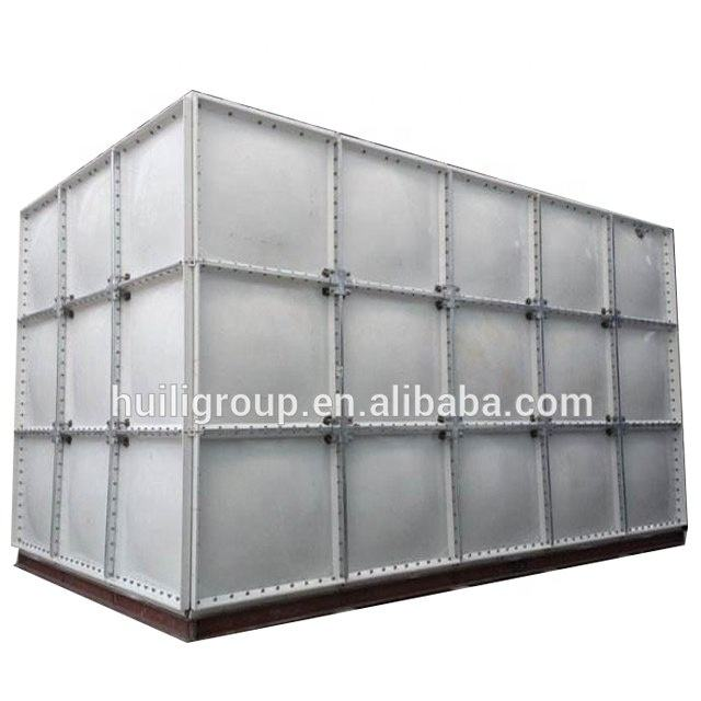 High quality FRP/GRP fiberglass flexible square water storage tanks