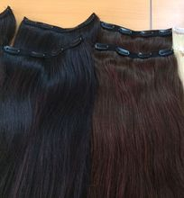 The Common hairstyles and colors of Clip In Hair on a Set , easy to use and remove clip in human hair