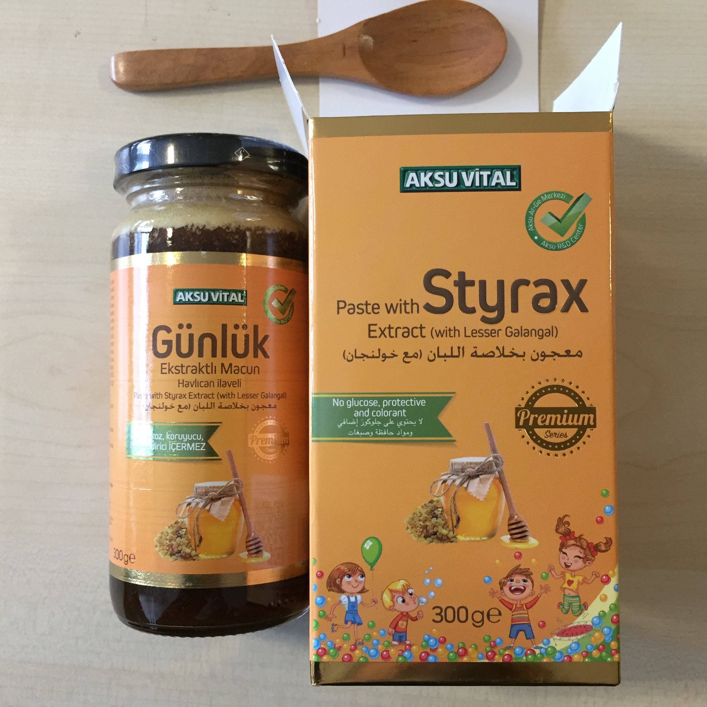 Styrax Extract Met Mindere Laos Halal Babyvoeding Producten Kids Dosis Royal Jelly Pollen Honing Mengsel Optimale Voeding