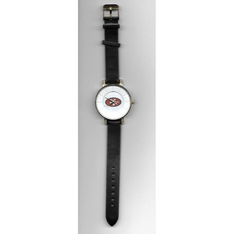 San Francisco 49ers Sparo Womens Lunar Watch-Officially Licensed