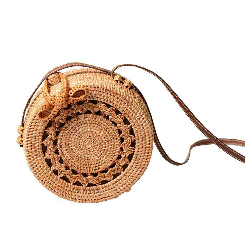 New collection rattan bamboo seagrass bags/ Vietnam high quality summer beach bags
