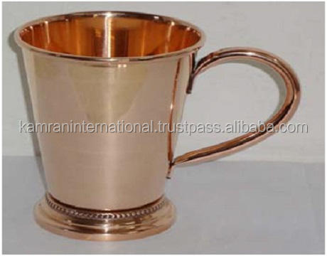 BPA FREE PURE COPPER MOSKAU MULE MINT SMOOTH JULEP CUP MIT GRIFF