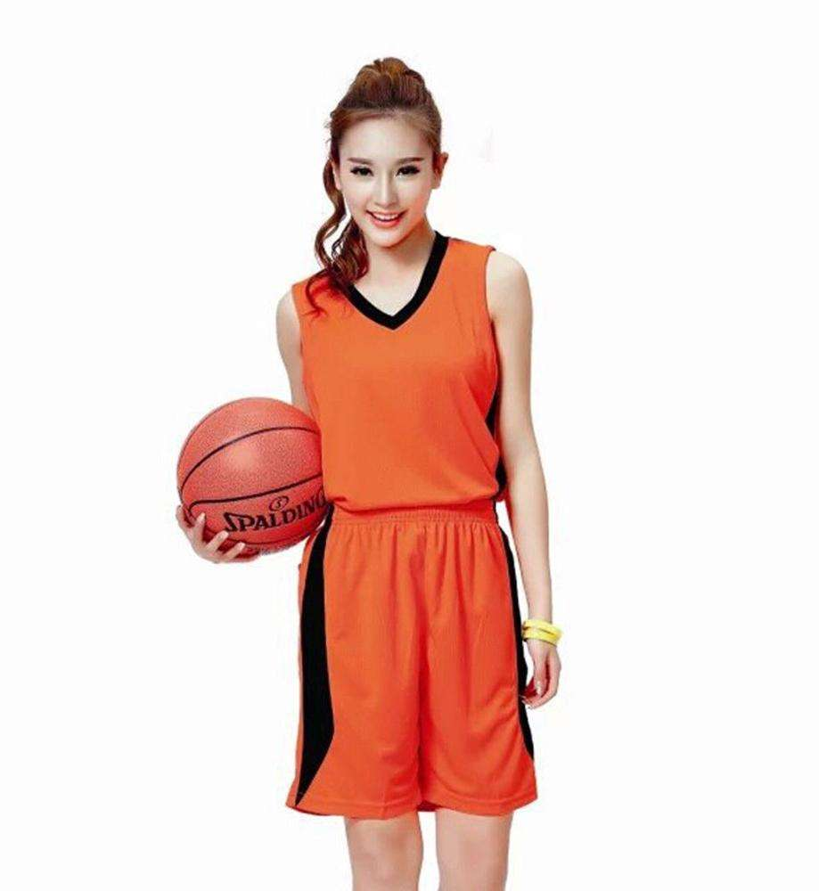 Women basketball jersey custom design team name and number uniform
