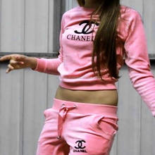 Latest Customized Plain tracksuit Women's Tracksuits Workout Gym Sweatsuit/Custom Jogging Suit/sportswear