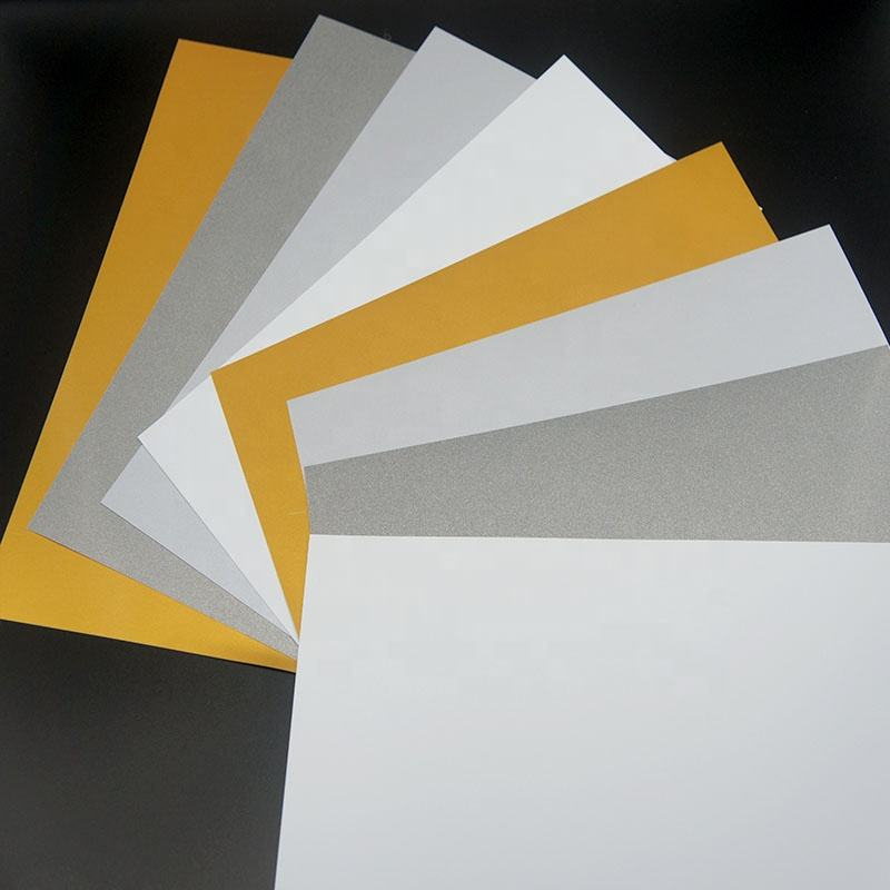 Golden Color Inkjet Printable PVC Plastic Sheet
