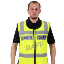Officer Yellow Reflective Vest