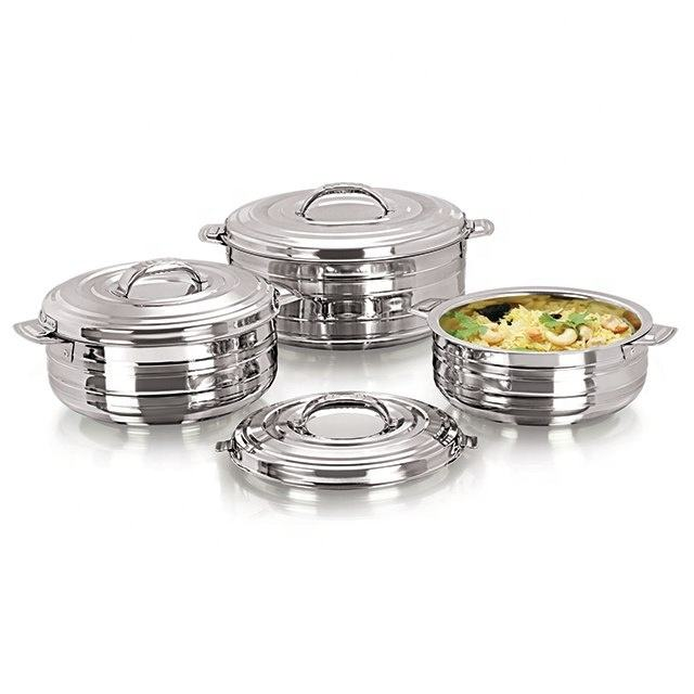 Ciaz Stainless Steel Casseroles 3Pcs Set