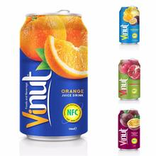 330ml VINUT Fruit Juice Orange Juice Drink Wholesale Suppliers