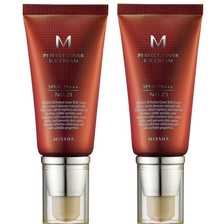 Missha M Perfect Cover BB Cream SPF 42 PA + + + (50 ml)