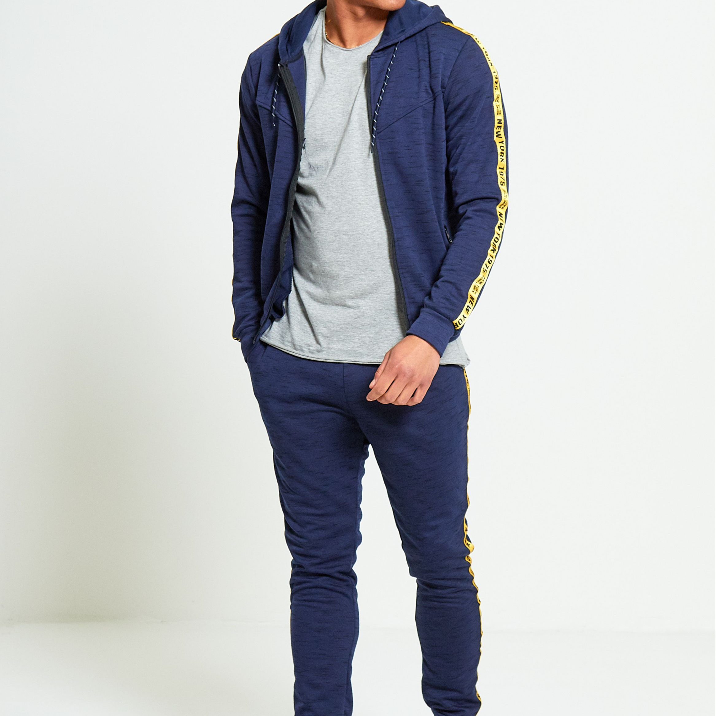 Wholesale Sports Casual Soft Men's Jogging Sets/Winter High Quality Custom Men's Fitness Tracksuits