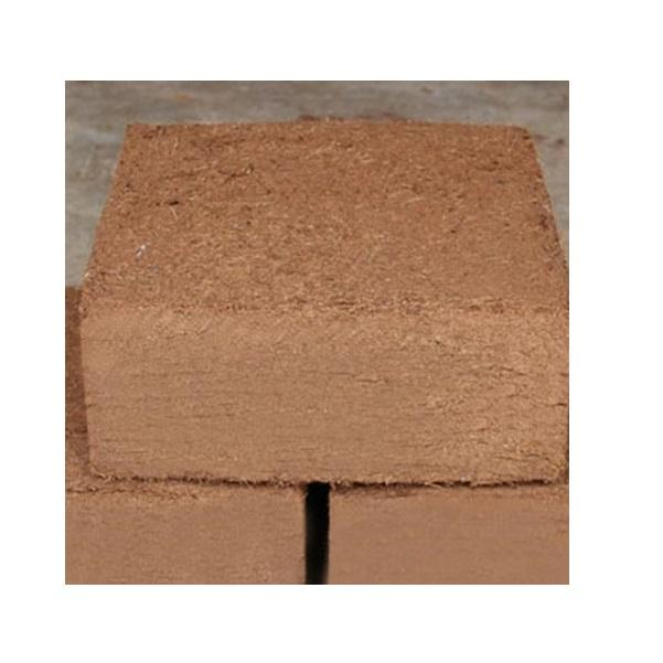 ISO 9001:2015 Quality Processed Coco Peat 5 KG Blocks - E Grade
