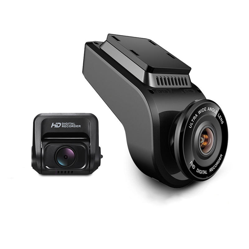 4K Ultra HD WiFi Car Dash Cam 2160P 60fps ADAS Dvr with 1080P Sony Sensor Rear Camera Night Vision GPS Dual Lens Dashcam