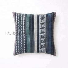 Decorative Custom Block Printed Indian Pillow Case, Handmade Outdoor Sofa Cushion Cover
