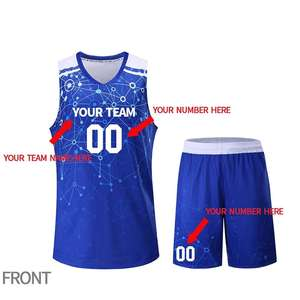 Men's Basketball Uniform Team Breathable Clothes