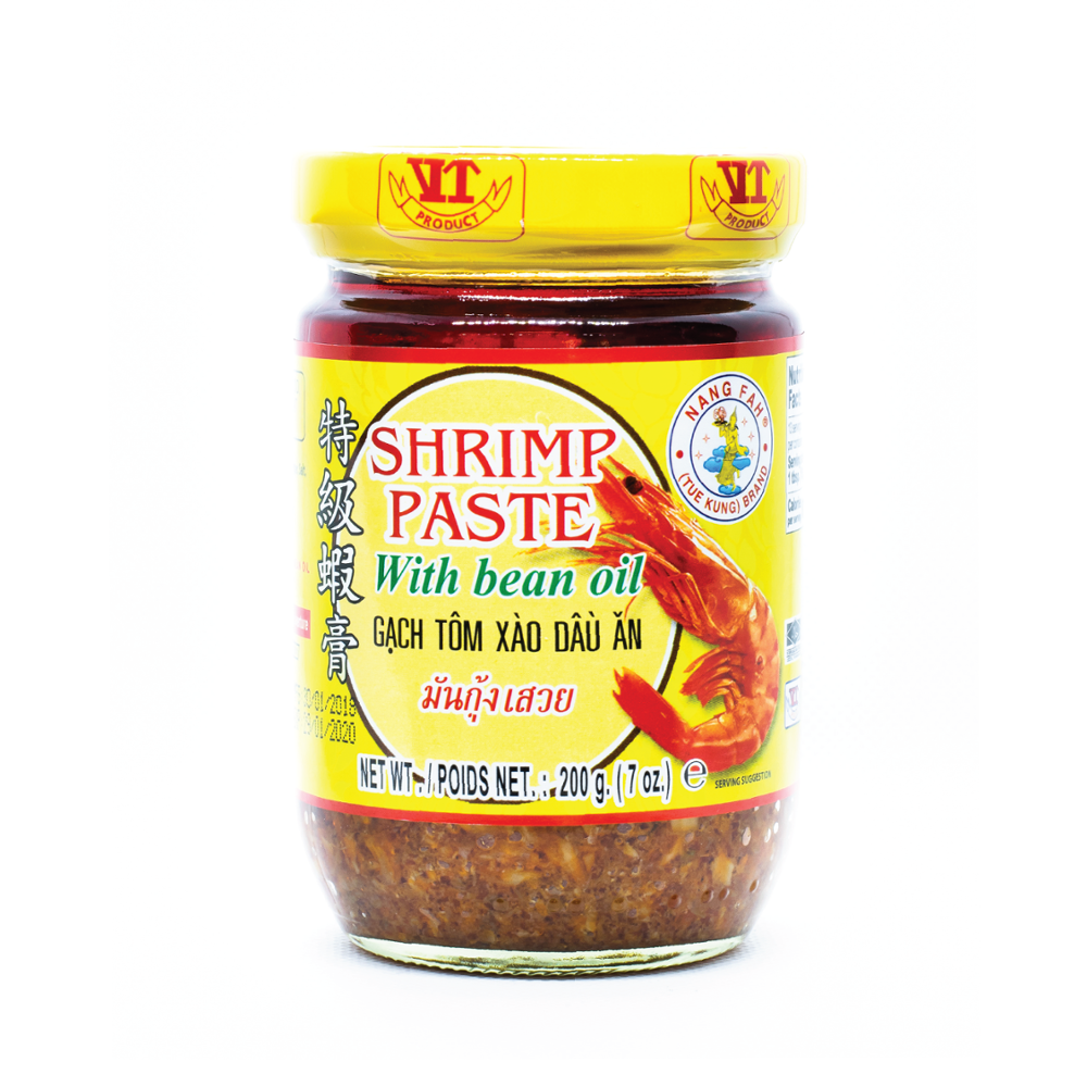 Shrimp paste with bean oil